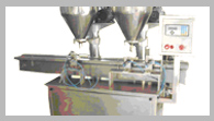 "Automatic Dry Powder Filling Augar Type Machine With 30""Turntable"